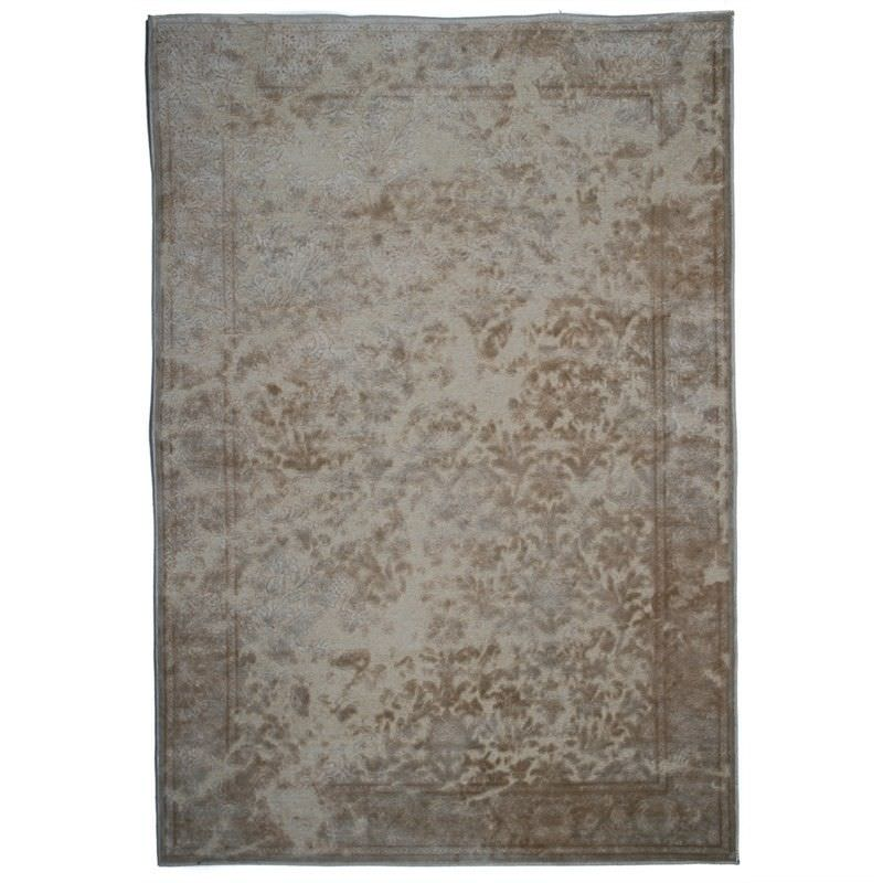 Farashe Contemporary Rug in Cream - 230x160cm