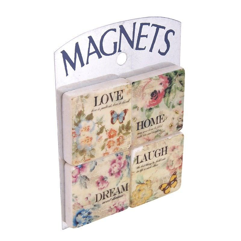 Set of 4 Magnets - Dream