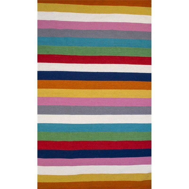 Monroe Stripes Hand Woven 230x150cm Woollen Rug