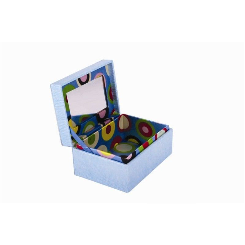 Pu Leather Jewellery Box- Blue