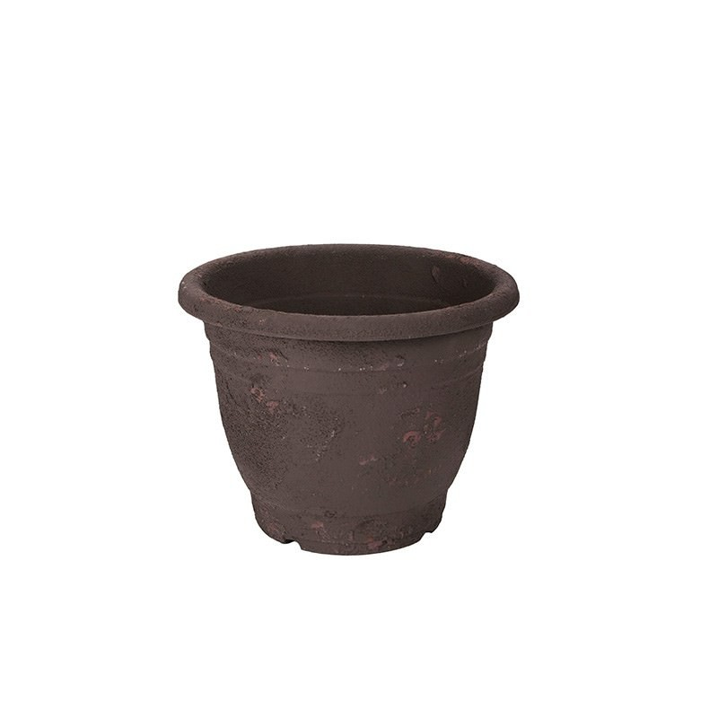 Small Faux Terracotta Planter Charcoal