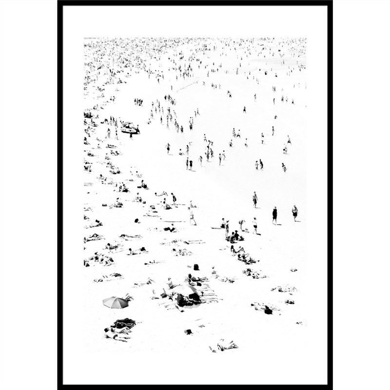 Little Bathers Left Photography Wall Art - Large