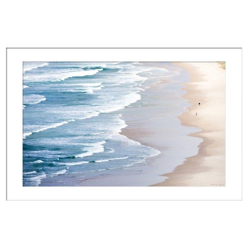 Serene Beach Photography Wall Art - Small
