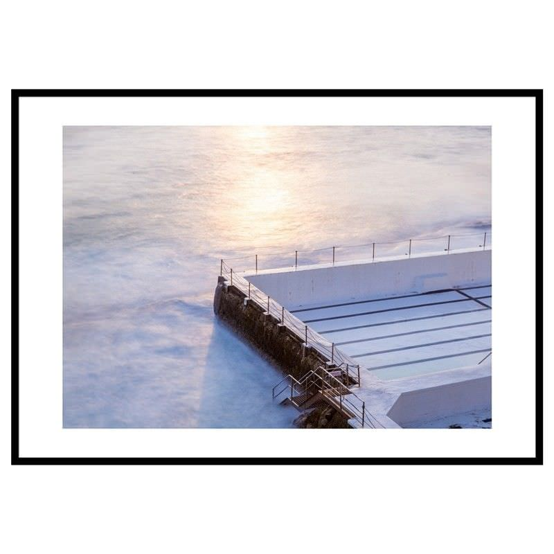 White Bondi Icebergs Photography Wall Art - Large