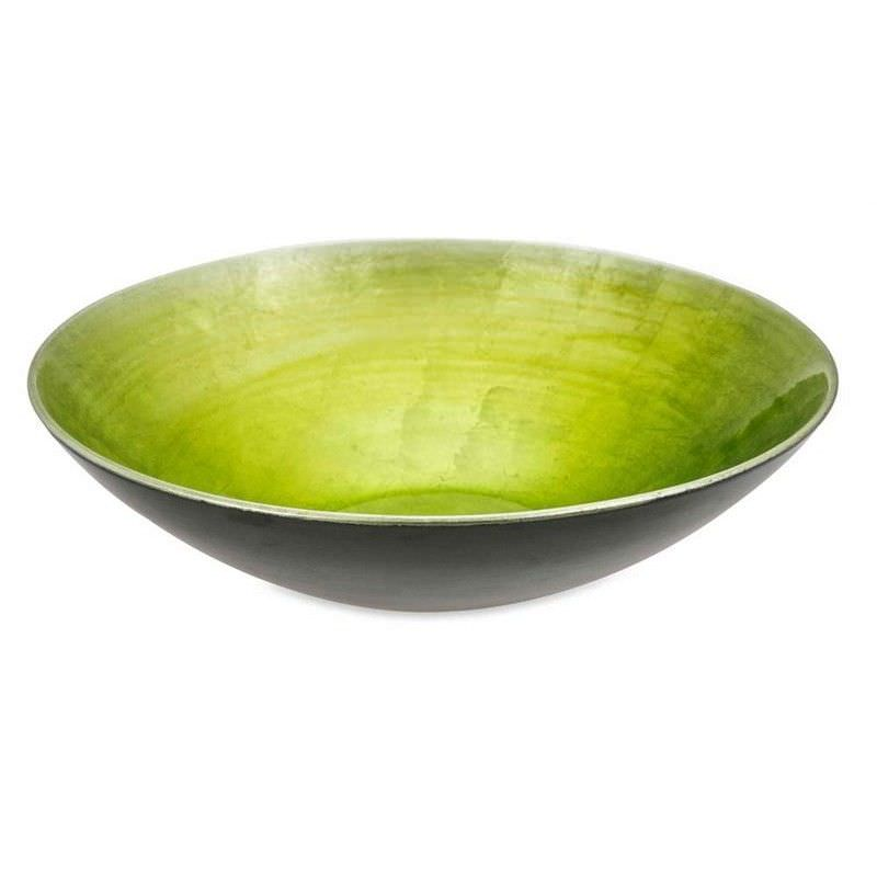 Lime Green Fading Bowl