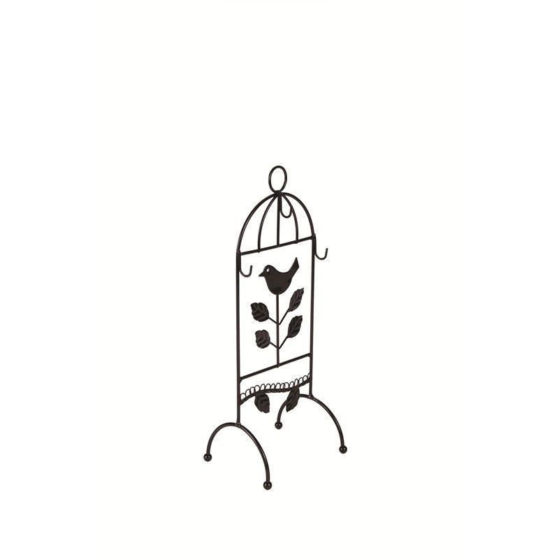 Bird Jewellery Stand-Black