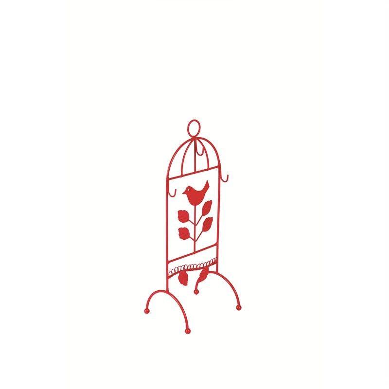 Bird Jewellery Stand-Red