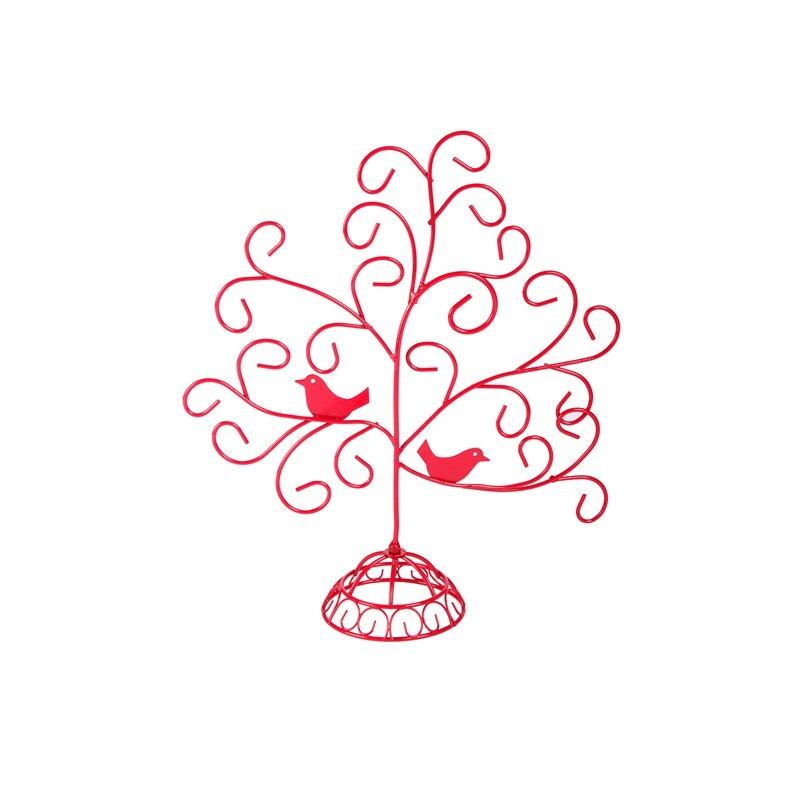 Bird Jewellery Tree - Red
