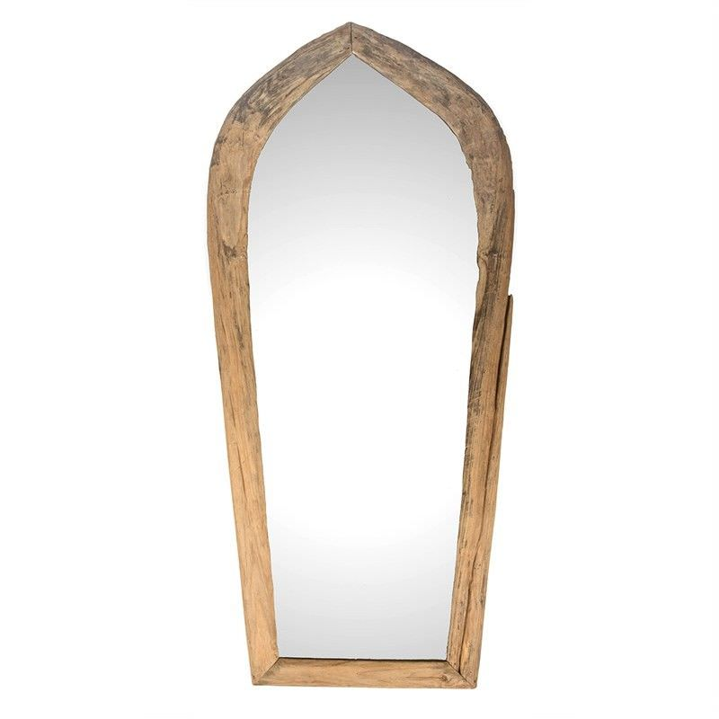 Buku Paddy Plough Timber Frame Floor Mirror