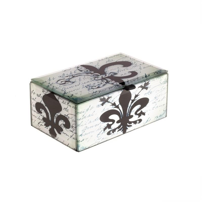 Jewellery Box - Fleur - 13.5x8.5x5.5cm