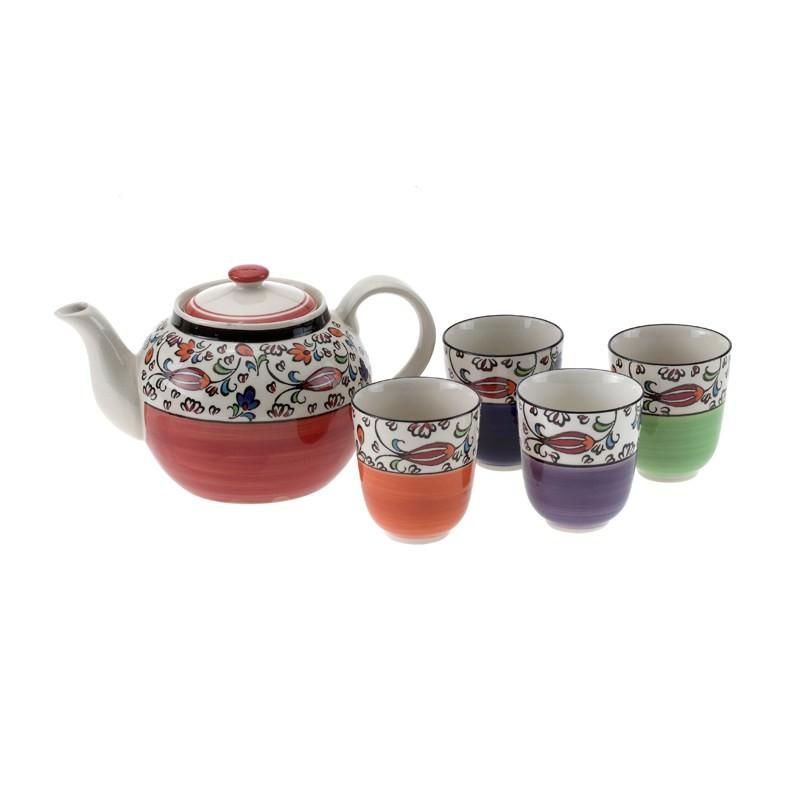 Kazbah 5Pce Tea Set