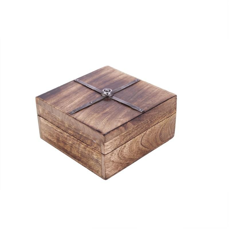 Card Box - Burnt Natural