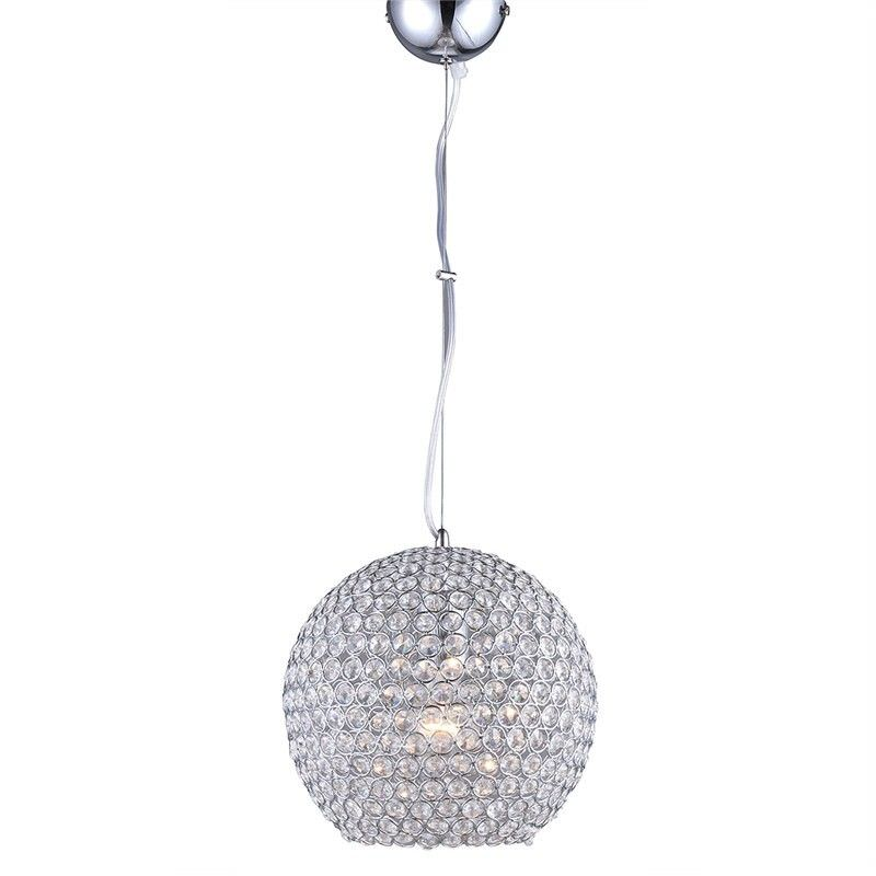 Moon 25cm Crystal Glass Pendant Light
