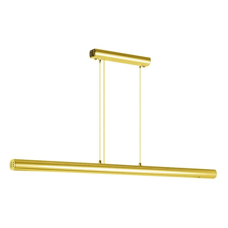 Studio 30W Fluorescent Pendant Light - Anodised Brass