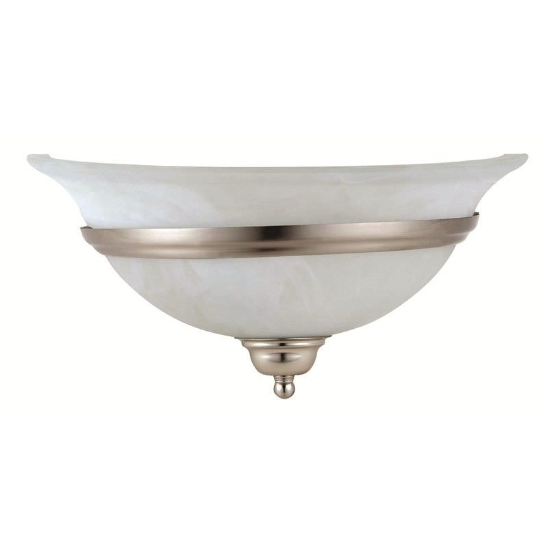 Chisholm Alabaster Glass Wall Sconce