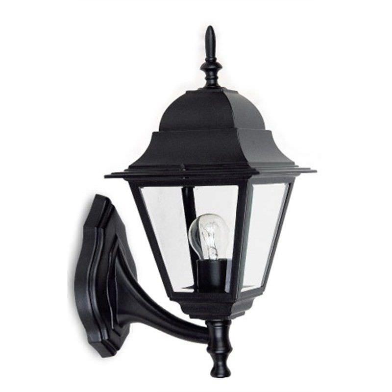 Cobar Large Cast Aluminium IP33 Exterior Wall Lantern - Black