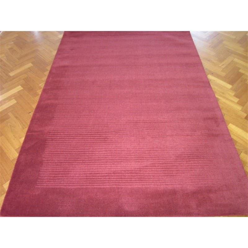 Elite Handwoven 100% Wool Rug in Red - 160x230cm