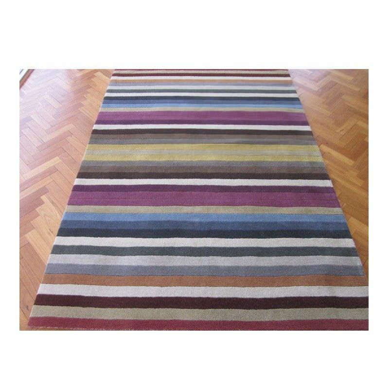 Elite 1054 Handmade Wool Rug in Multi - 80x300cm