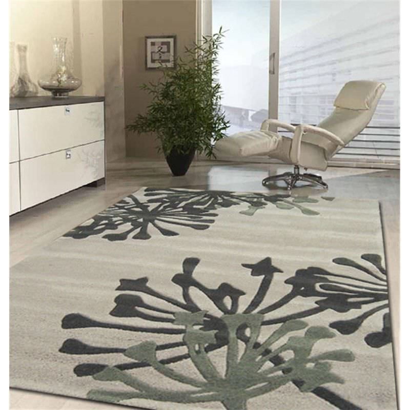 Stunning New Rug in Beige and Taupe - 165x115cm