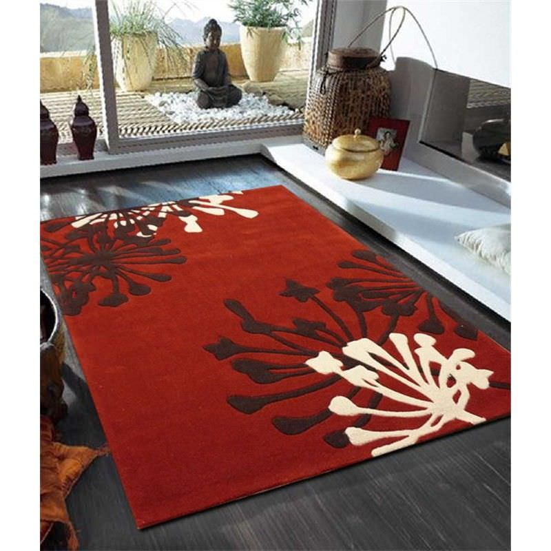 Stunning New Rug in Red - 280x190cm