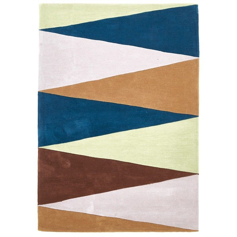 Narris Cascade Hand Tufted Rug in Cool Tone - 280x190cm