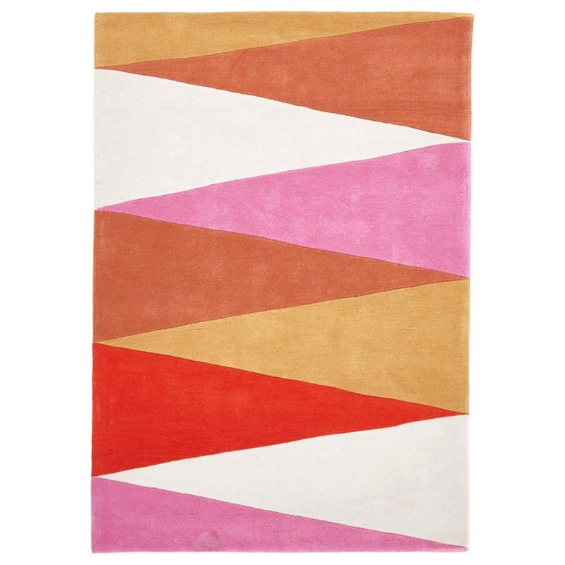 Narris Cascade Hand Tufted Rug in Warm Tone - 165x115cm