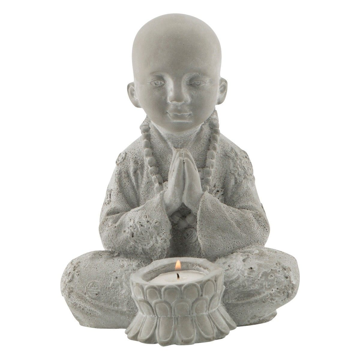 Ubub Cement Little Monk Tea Light