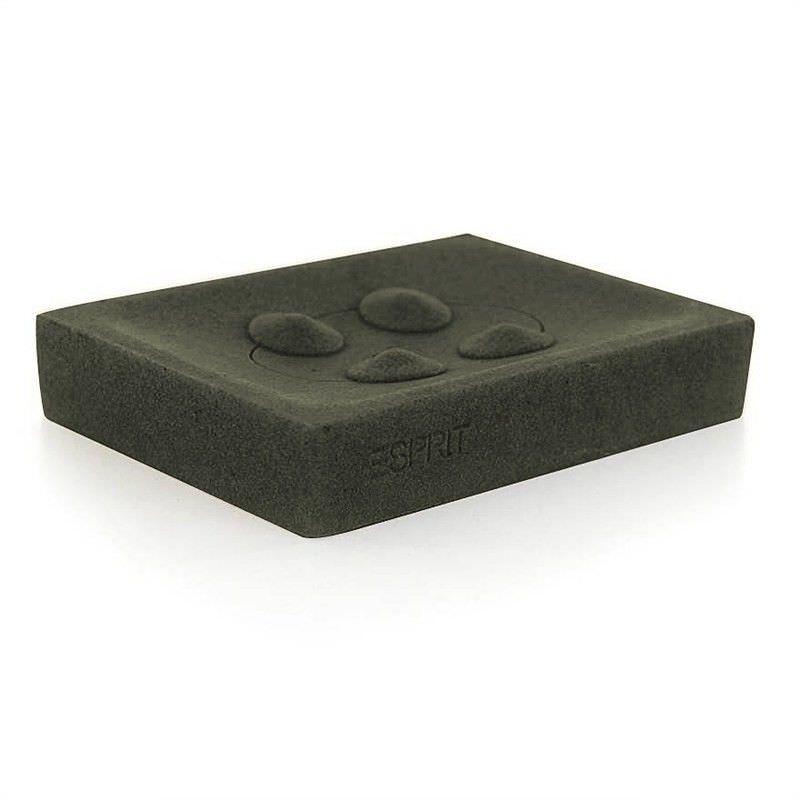 Esprit Splash Soap Dish in Charcoal