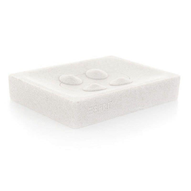Esprit Splash Soap Dish in White