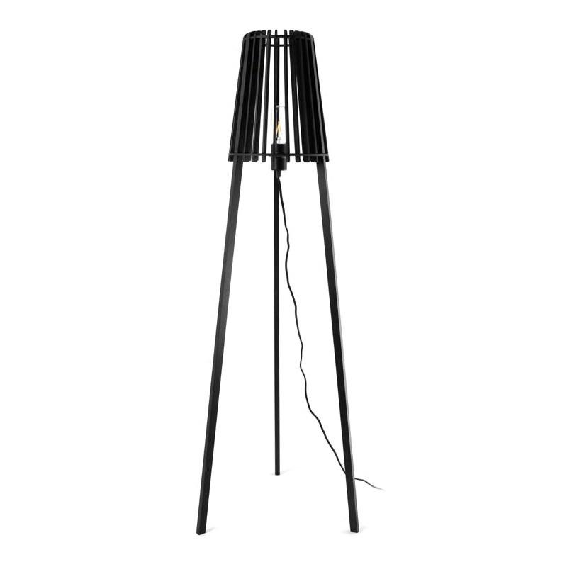 Fidel Timber Floor Lamp