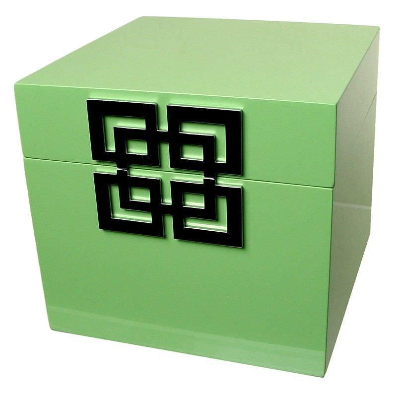 Jewellery Box High Gloss Summer Green