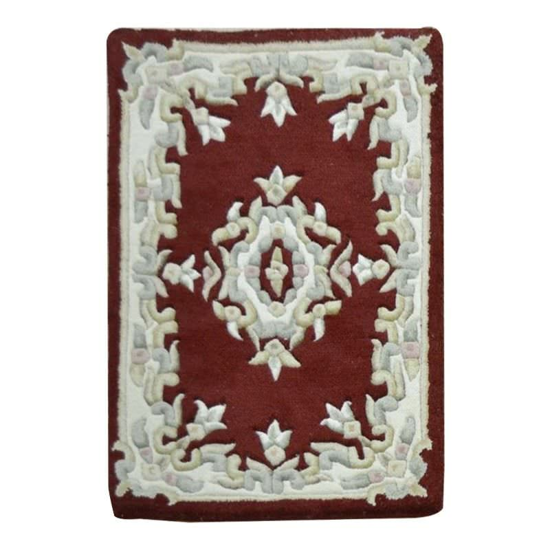Jewel Hand Tufted 60x90cm Wool Rug - Red