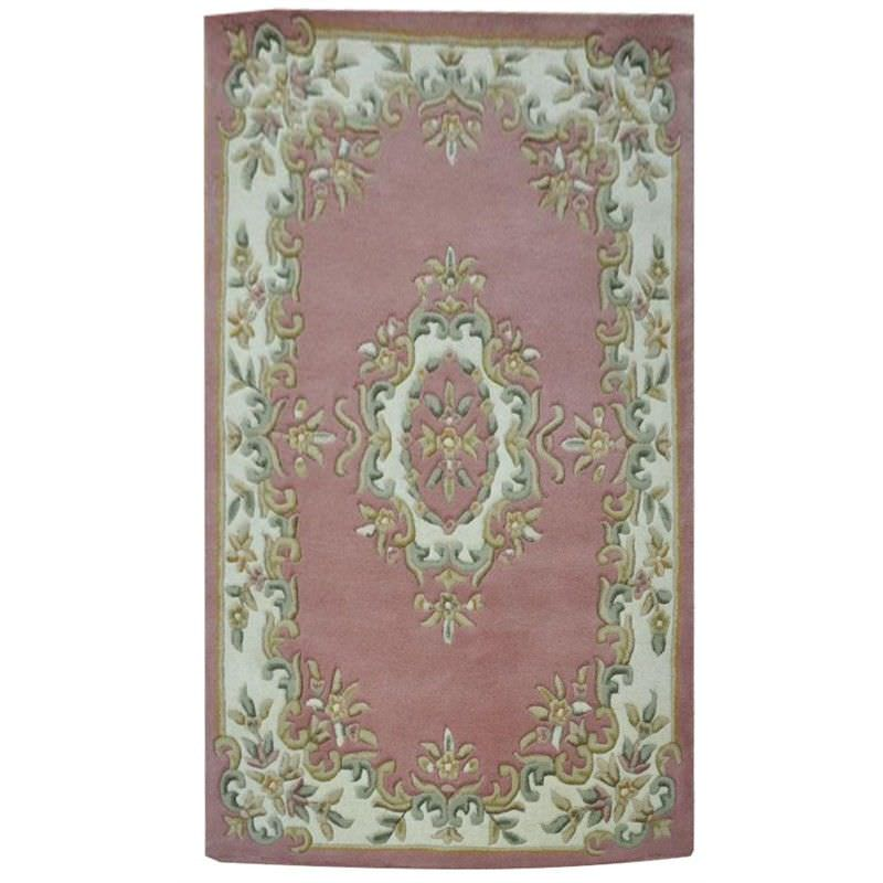 Jewel Hand Tufted 240x340cm Wool Rug - Pink