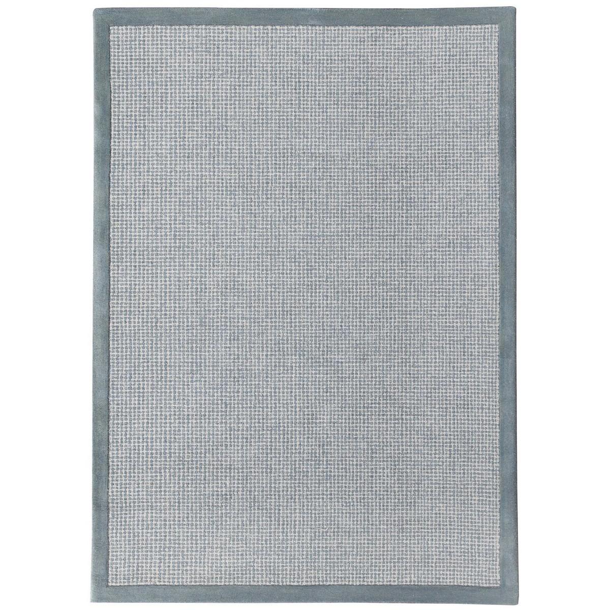 Idina Hand Tuffted Wool Rug, 190x280cm, Aqua