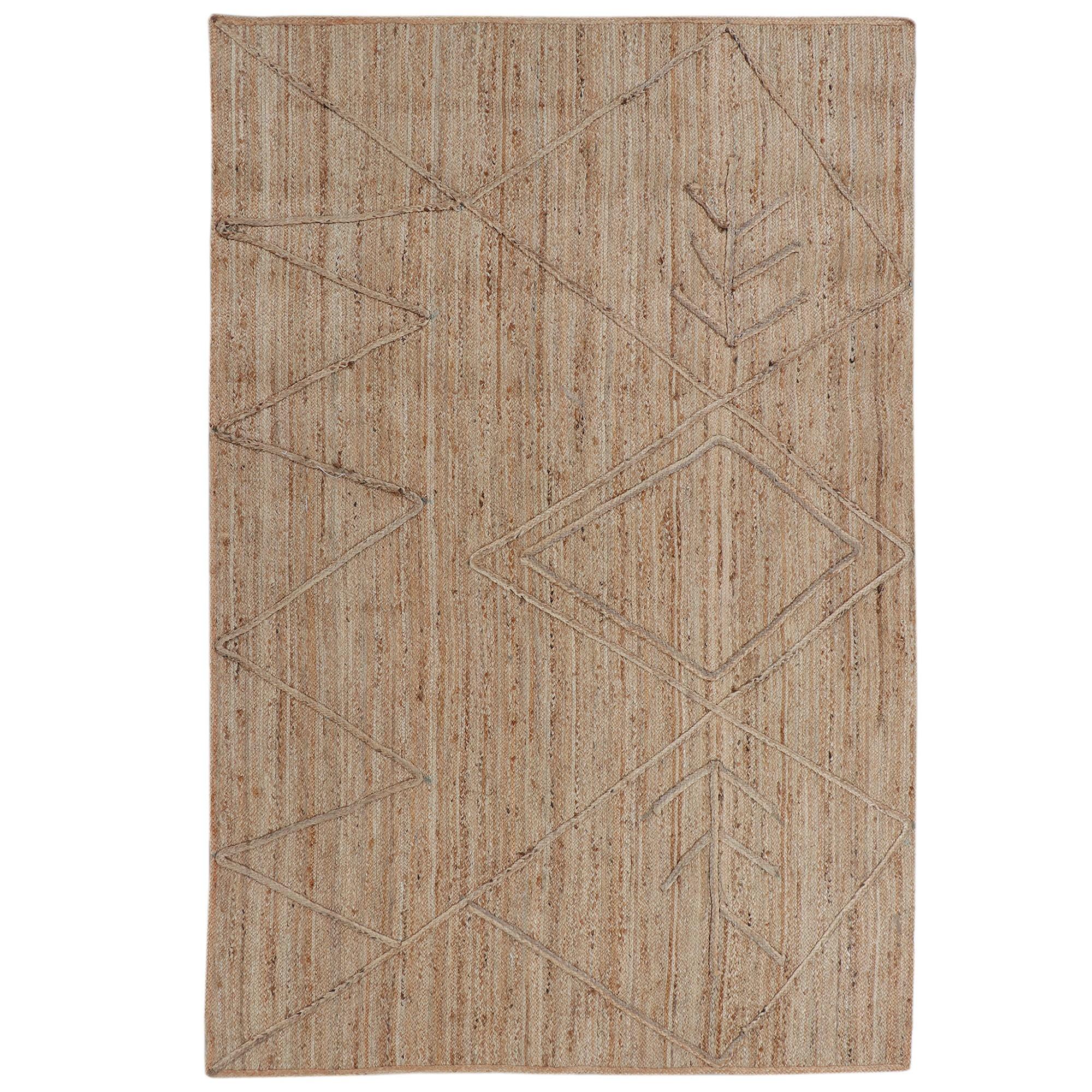 Nalaa Hand Woven Jute Rug, 280x190cm