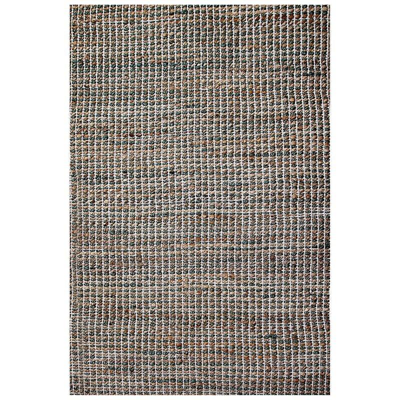 Iris 120x180cm Jute and Cotton Rug - Sage Green/Natural