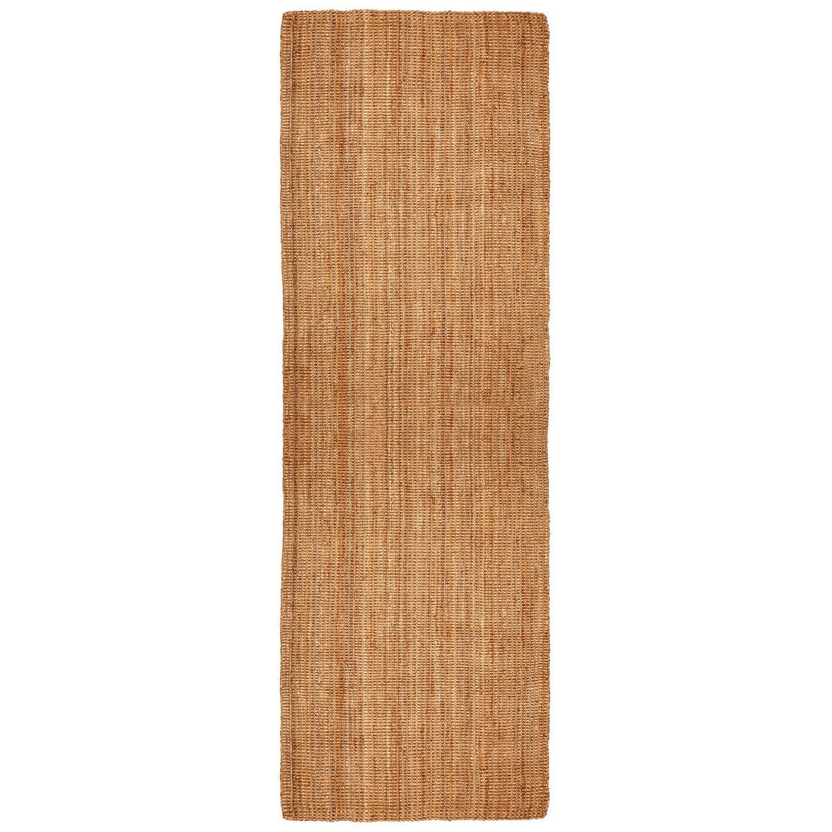 Estate Hand Braided Jute Runner Rug, 75x360cm