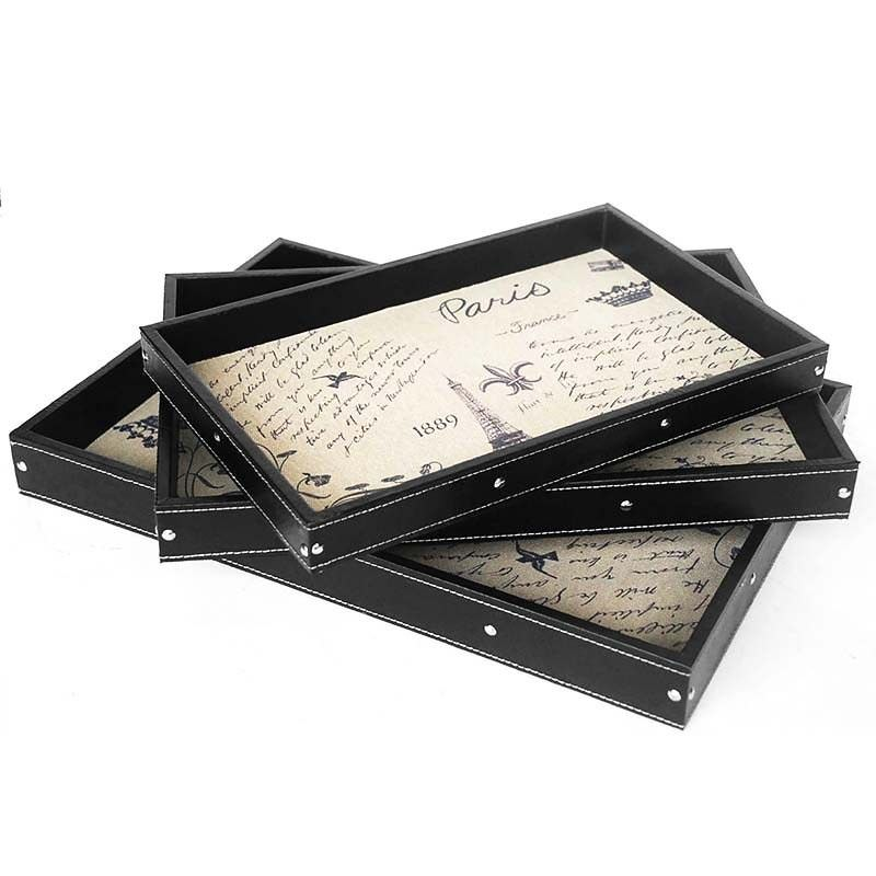 Set of 3 Eiffel Tower Serving Tray