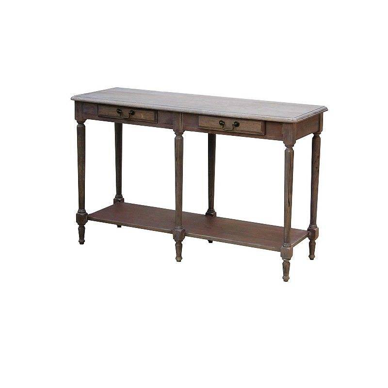 Louis XVI White Wash  Hallway Table