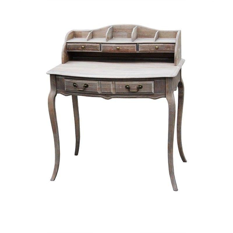 Cherilyn Solid Beech Timber 96cm Secretary Desk