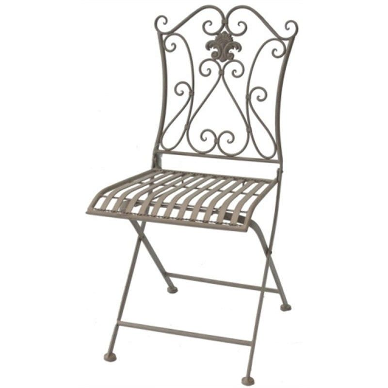 Iron Rustic Chair