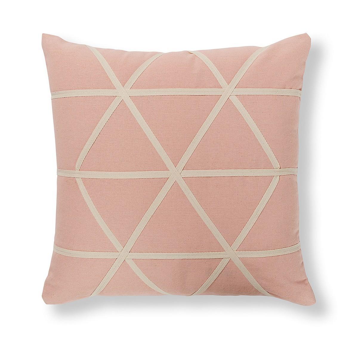 Farina Fabric Scatter Cushion, Blush