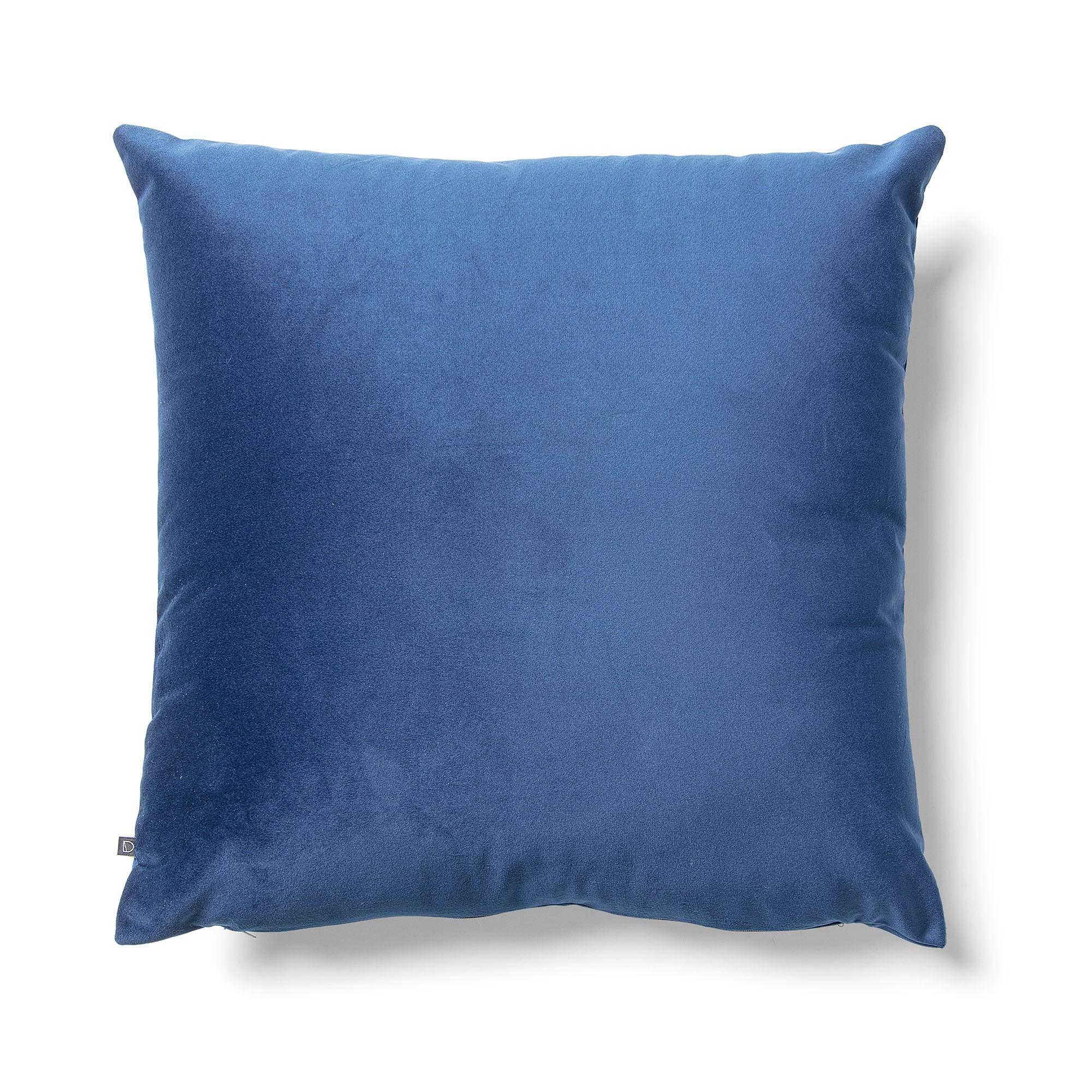 Daraya Velvet Fabric Scatter Cushion, Blue