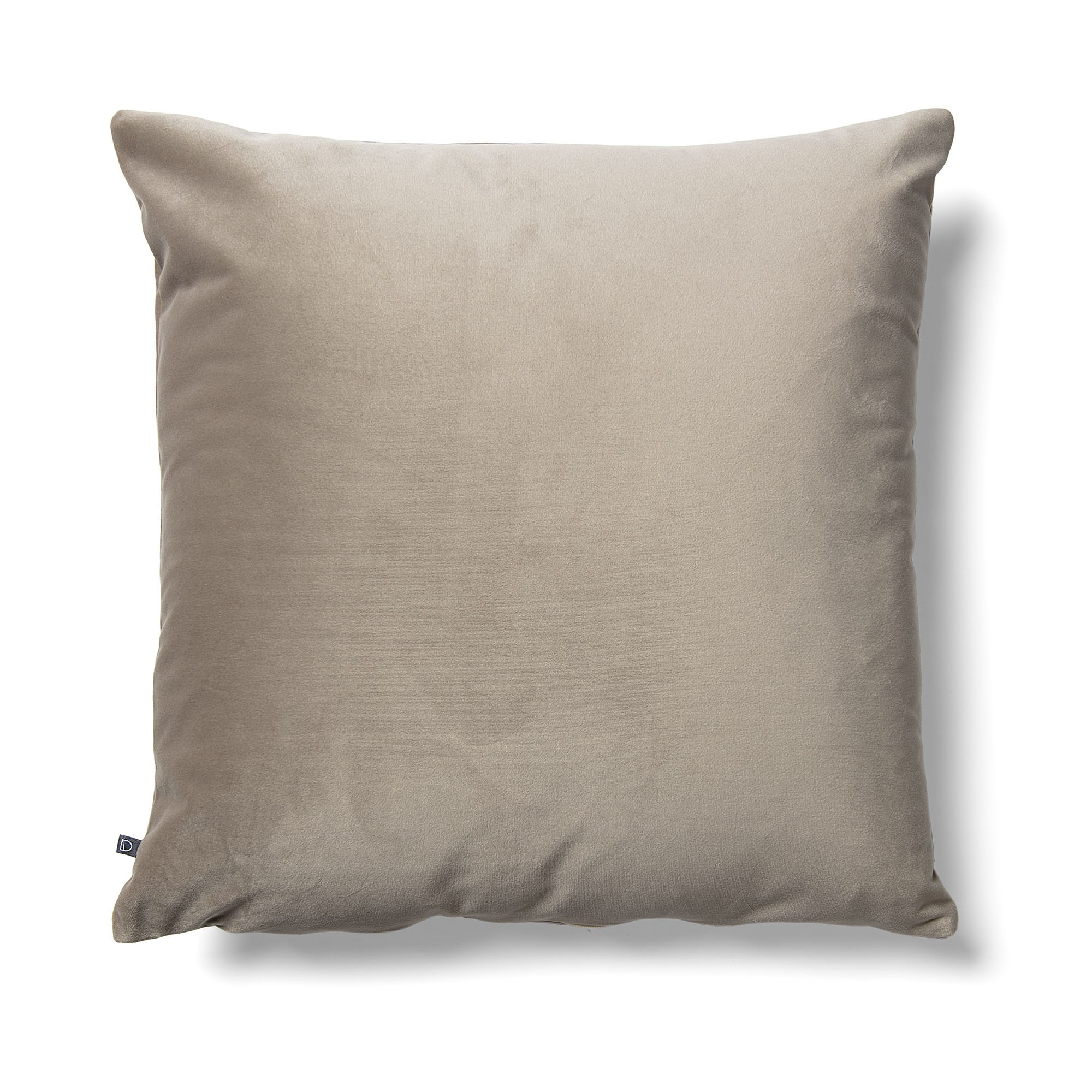 Daraya Velvet Fabric Scatter Cushion, Taupe