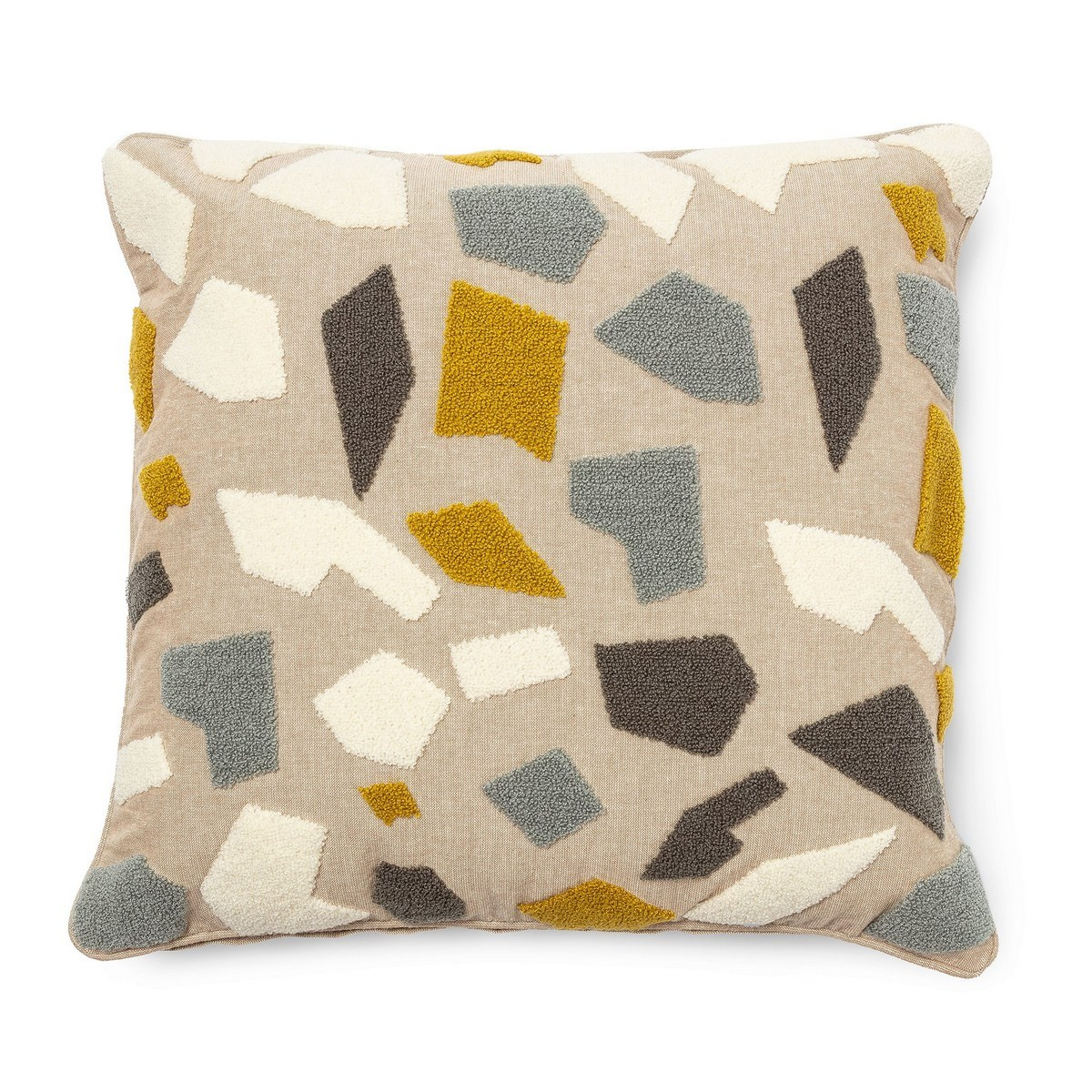 Keatons Fabric Scatter Cushion, Beige