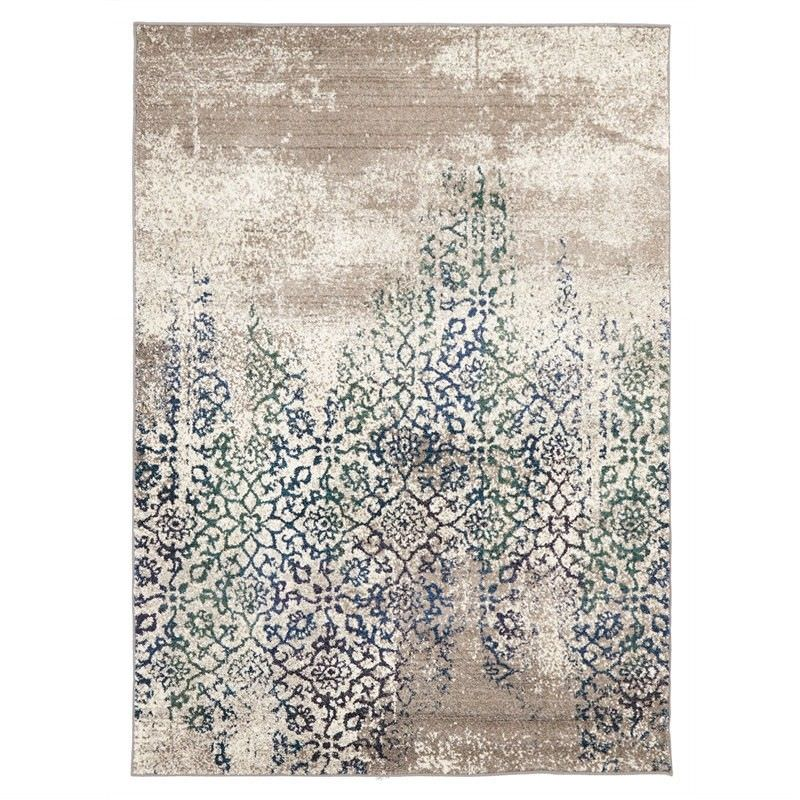 Turkish Made Stunning Monet Inspired Rug in Blue - 290x200cm