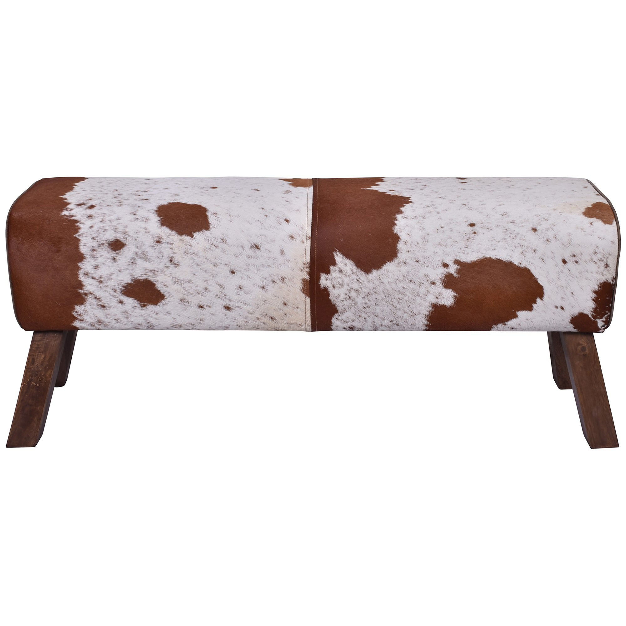 Croft Cowhide Ottoman Bench, 120cm