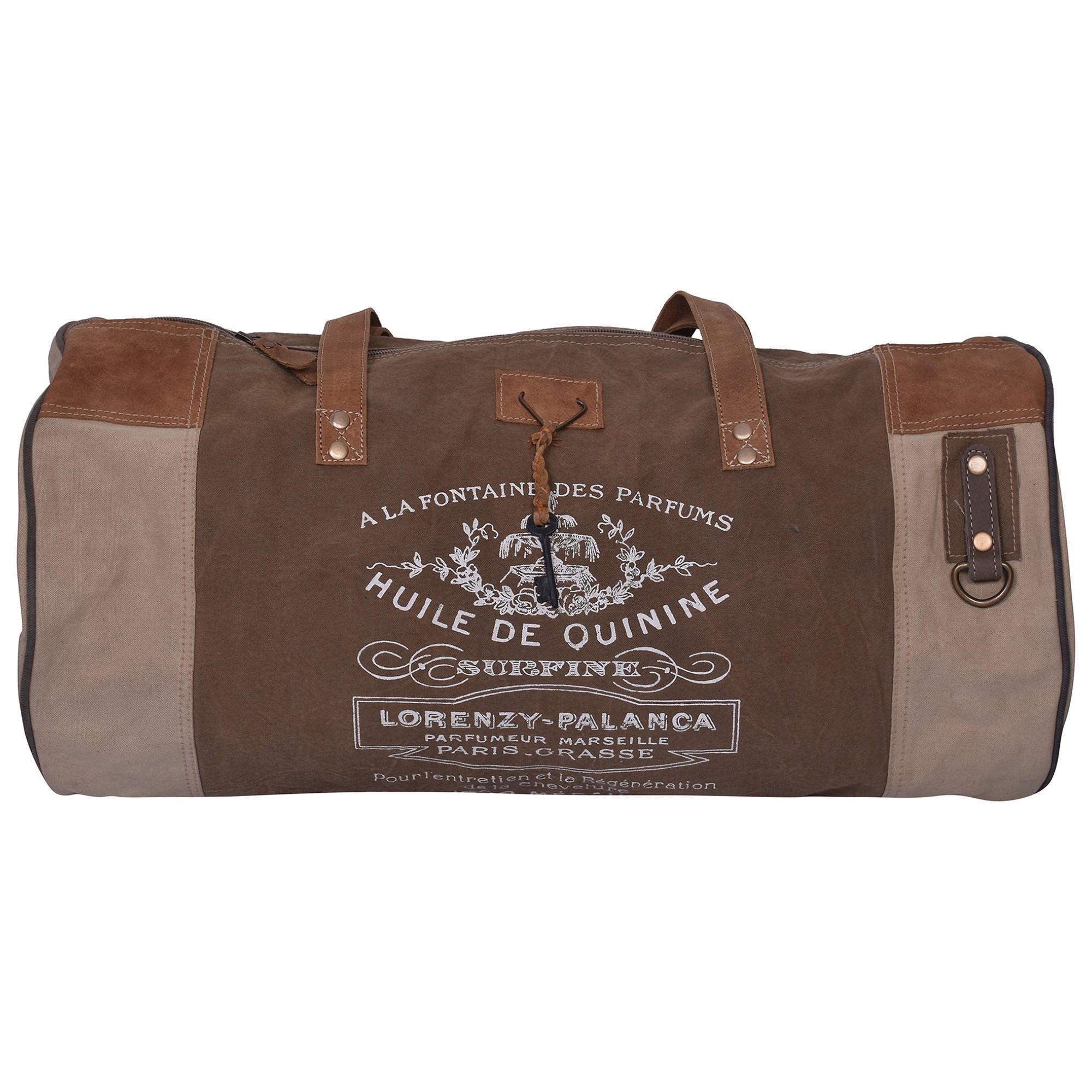 Lorenzy Cotton Canvas Duffel Bag
