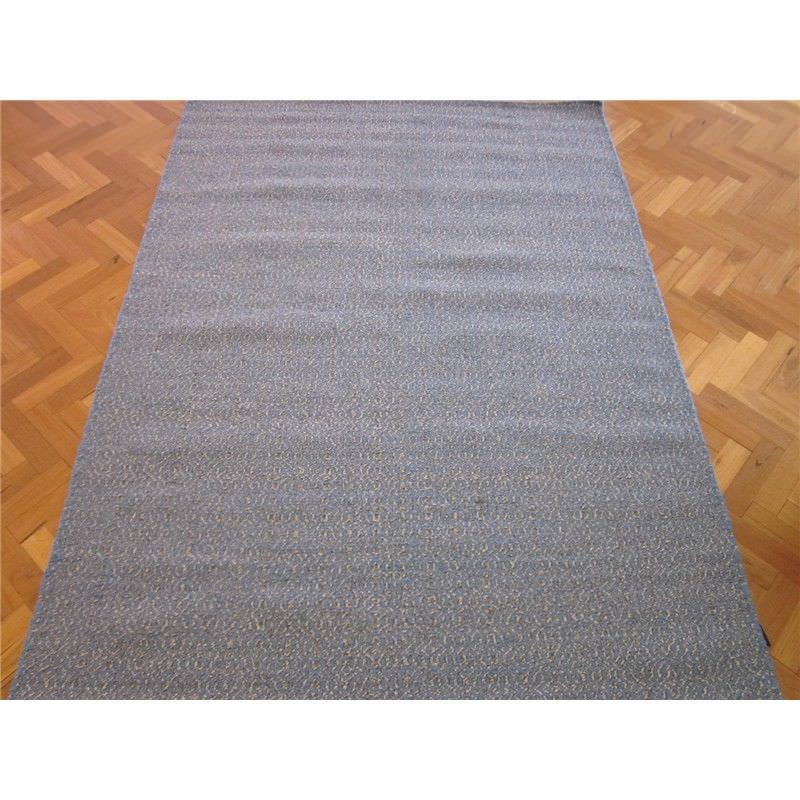 Avila Hand Woven Wool Rug in Blue/Natural - 160x230cm