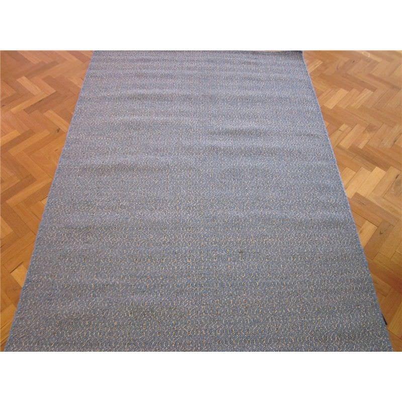 Avila Hand Woven Wool Rug in Blue/Natural - 190x280cm